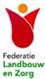 logo Federatie landbouw en zorg